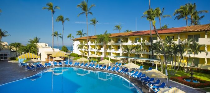 Crown Paradise Resorts Puerto Vallarta Funjet Vacations - Puerto vallarta resorts all inclusive