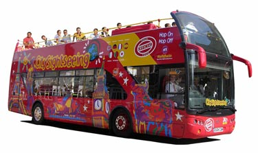 Hop-On/Hop-Off City Sightseeing Tour