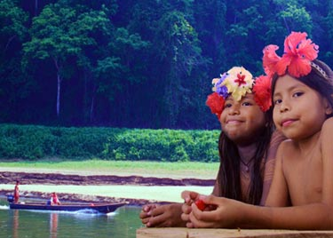 Embera Indigenous Community from Playa Bonita
