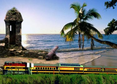 Panama Express Train from Playa Blanca Beach