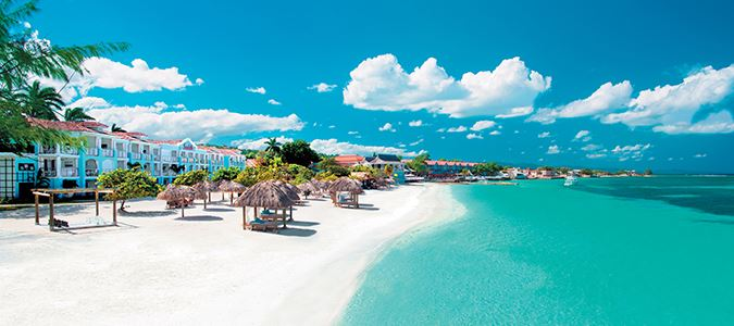 Sandals Resorts Save up to 65% and $555 Free Air Credit