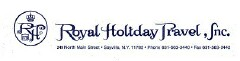 ROYAL HOLIDAY TRAVEL INC